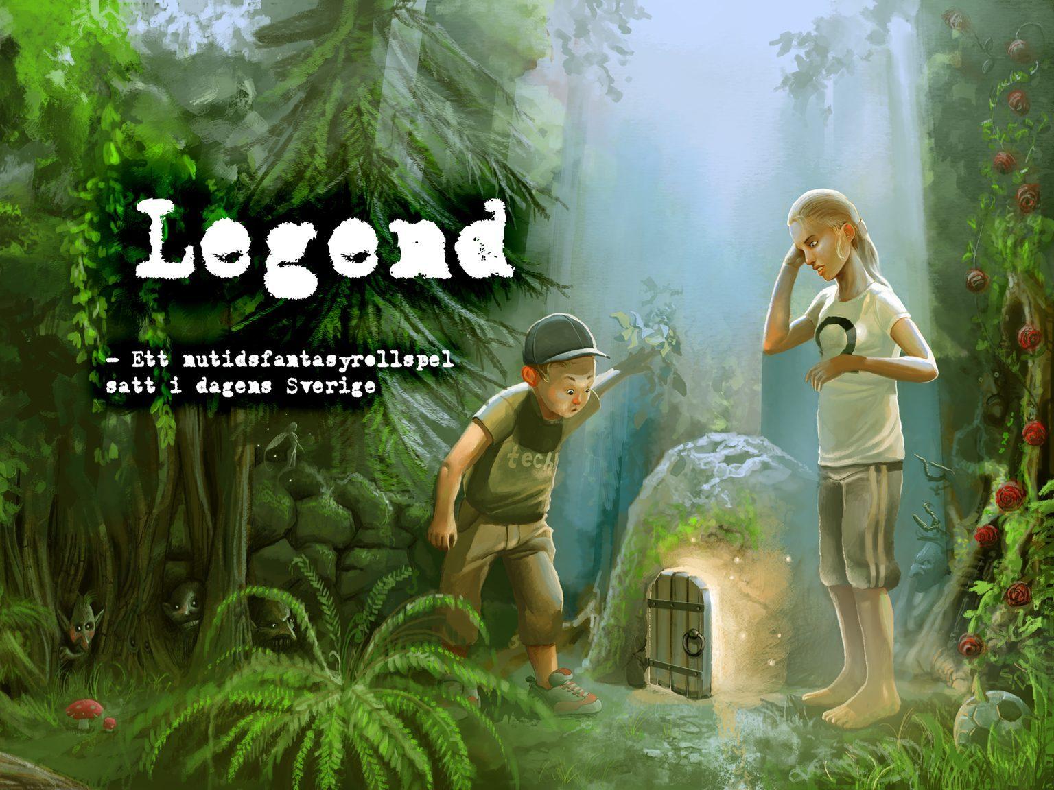 Bild som användes vid crowdfundingen för Legend.