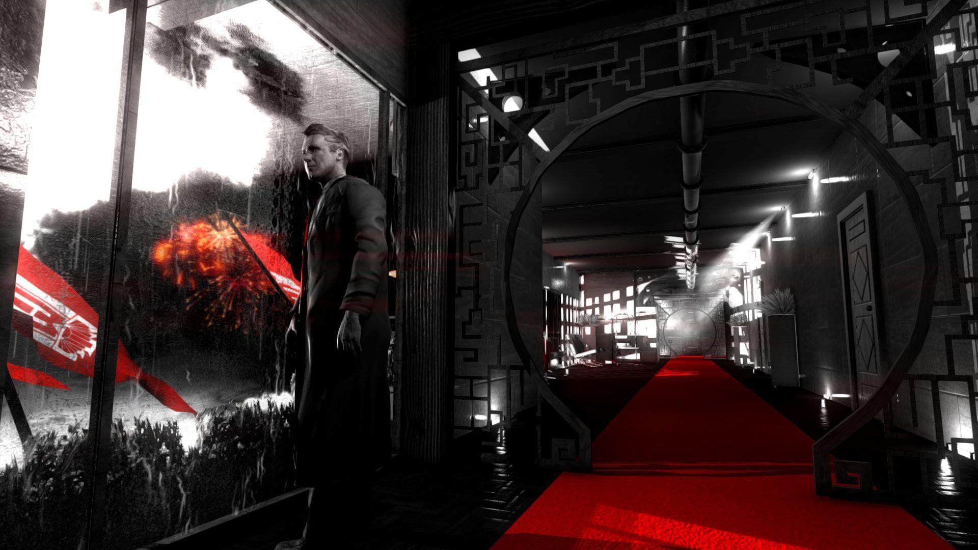 Blues and Bullets har en egen visuell design som får den att stå ut mot andra episodspel.