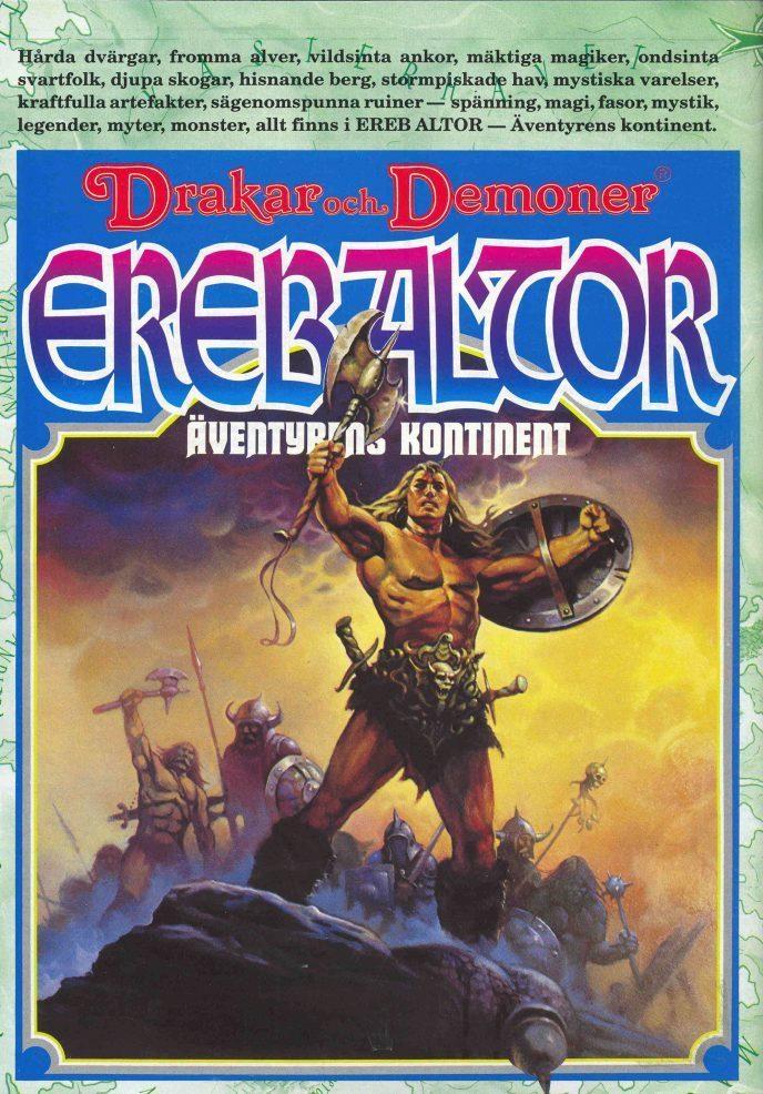Ereb Altor - äventyrens kontinent