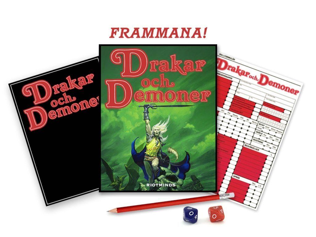 Drakar och Demoner crowdfundas