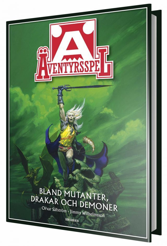 Äventyrsspel - Bland mutanter, drakar och demoner är en strålande genomgång av Sveriges mest betydande rollspelsutgivare.