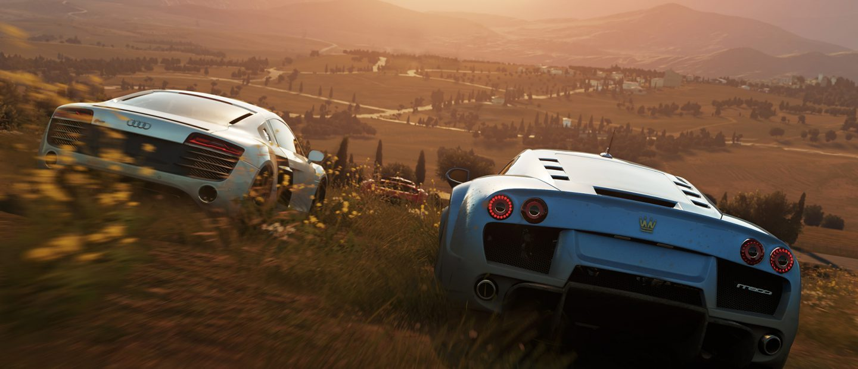 Forza Horizon har vackra miljöer som bara skriker efter att utforskas...