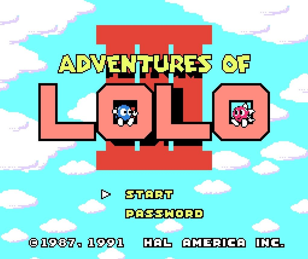 Omslagsbild till The Adventures of Lolo 3