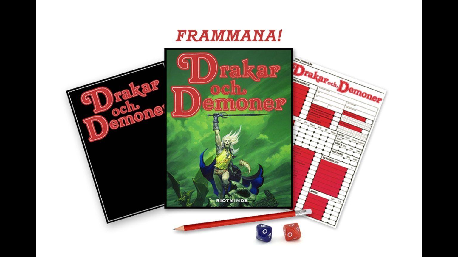 Drakar och Demoner Retro