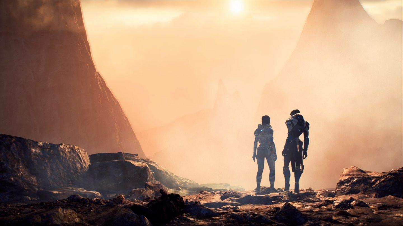 Vackra vyer i Mass Effect Andromeda.