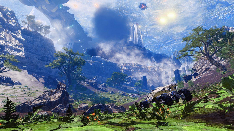 Meridians vackra landskap skyndas förbi i vår Nomad och kittlar fantasin över vad som kunde ha varit.